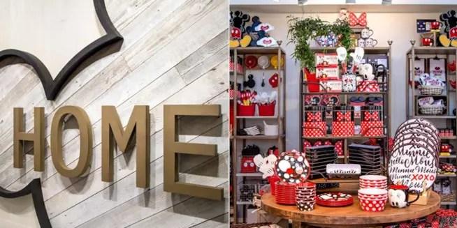 Ha aperto il primo Disney Home Store con articoli per la casa