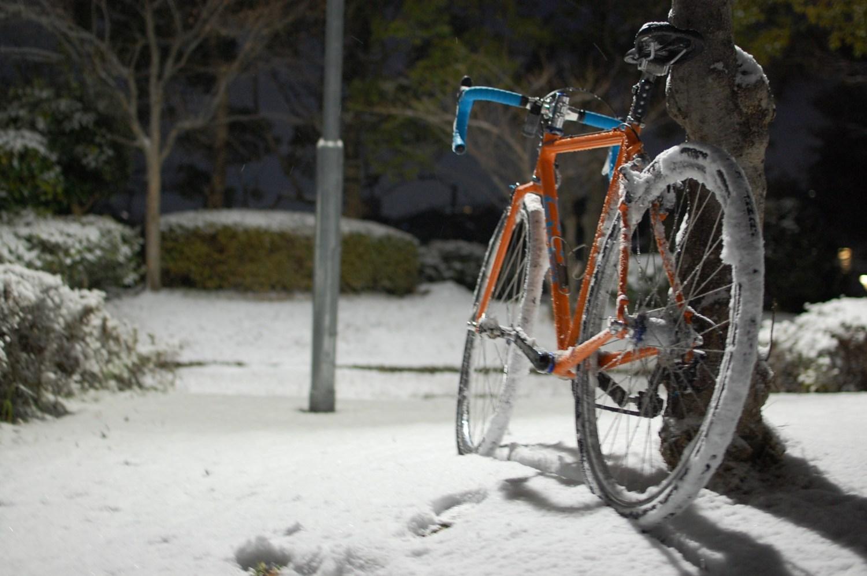 雪の日にふと思う