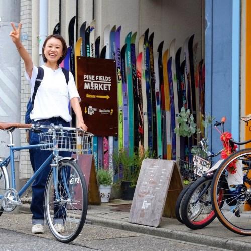 自転車のある生活-Tokyo Bikeをカスタマイズ