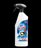 Dezinfekcia, bez chlóru a zápachu Krystal 750ml