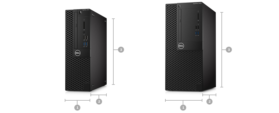 OptiPlex 3050 Small Form Factor: Business critical performance, smaller design.