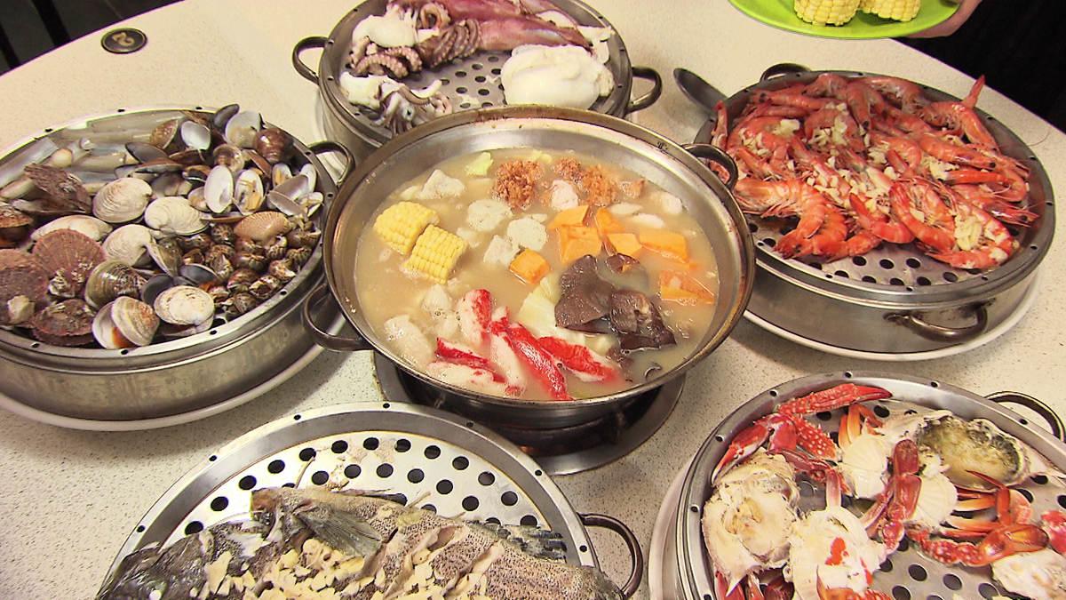 超澎派!吃完海鮮塔還有海鮮鍋   食尚玩家