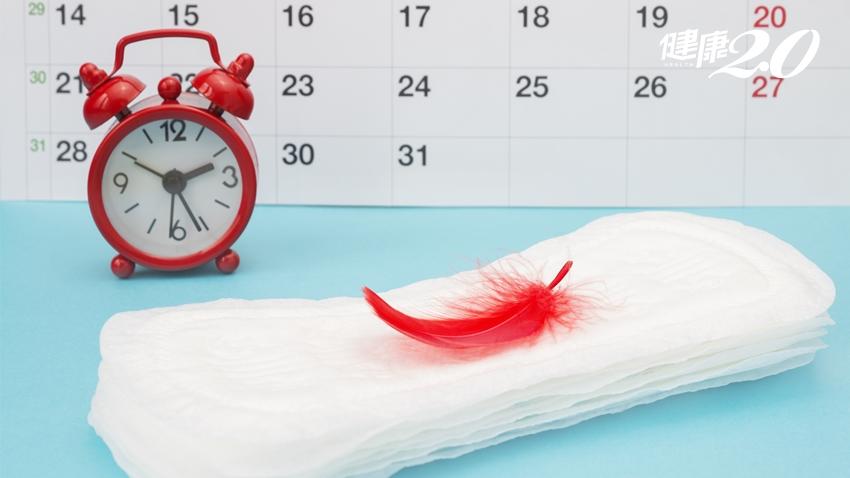 有血塊,月經量少?女中醫教你「觀察經血」食療調理更順暢|健康2.0