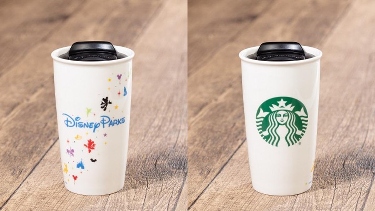 香港迪士尼樂園裡也有星巴克!限定米奇杯不買怎麼行 | 食尚玩家