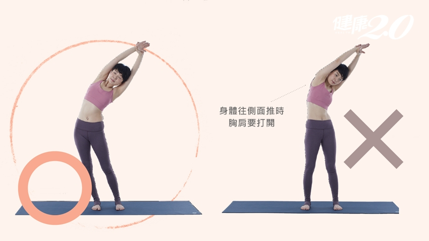 小腹凸不一定是胖!1個動作鍛鍊身體筋膜,小腹變平坦 健康2.0