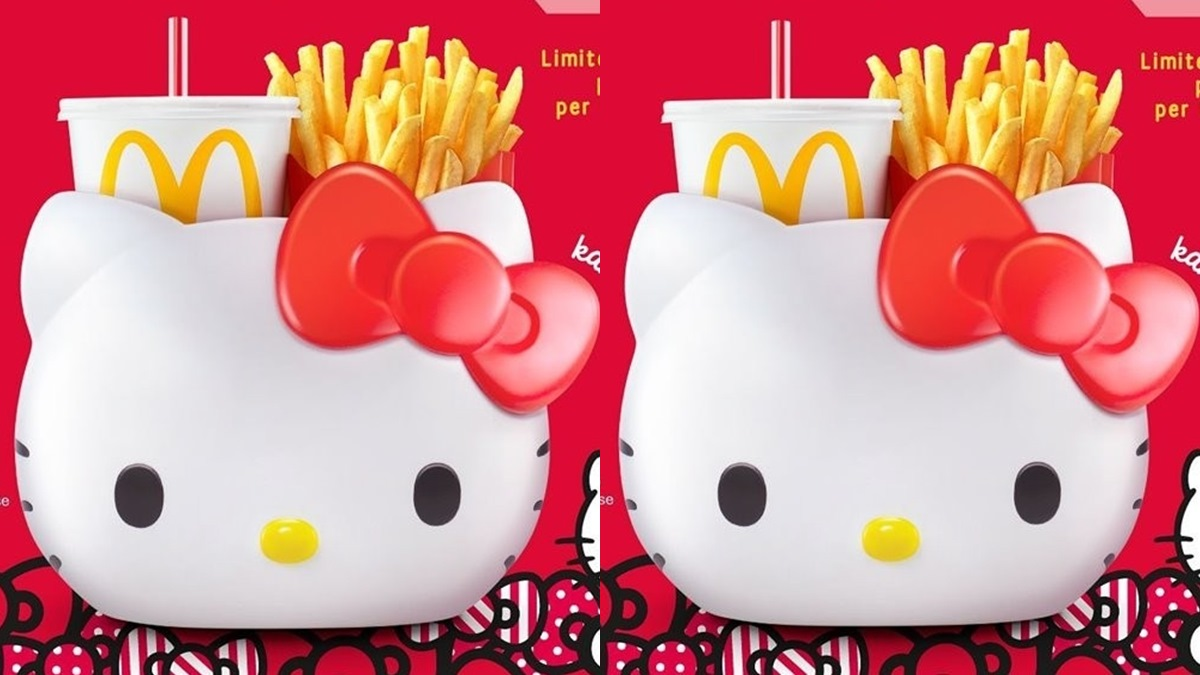 太欠收了!麥當勞再推「Hello Kitty萬用置物籃」,貓迷抓狂:「好想要」! | 食尚玩家