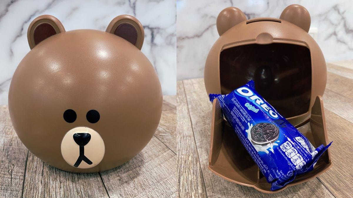 直接衝去買!7-11獨家賣「OREO熊大存錢筒」,咖啡「買一送一」 | 食尚玩家