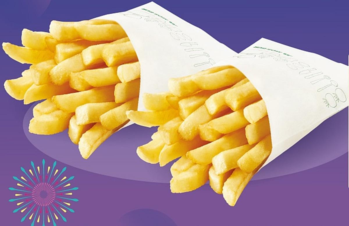 45元爽吃!摩斯大薯條這2天「買一送一」。還有新品「松露起司薯條」可吃 | 食尚玩家