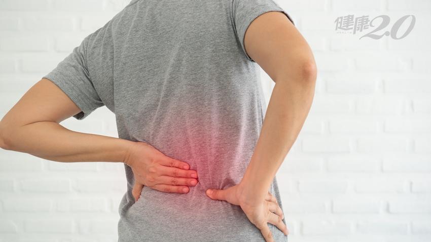 腰背痛到坐立難安 椎間盤突出免開刀! 門診用「這招」破解腰背痛之苦 健康2.0