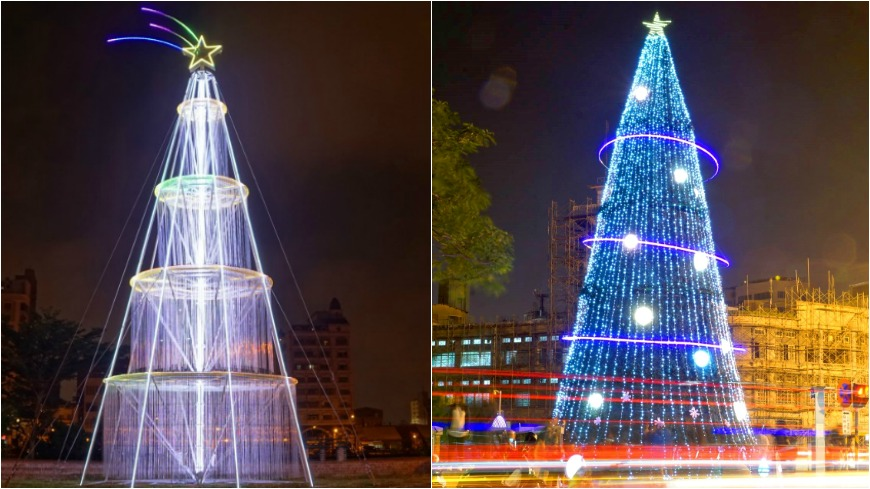 拍照去!古都染耶誕味 臺南「銀河聖誕」絕美放閃│TVBS新聞網