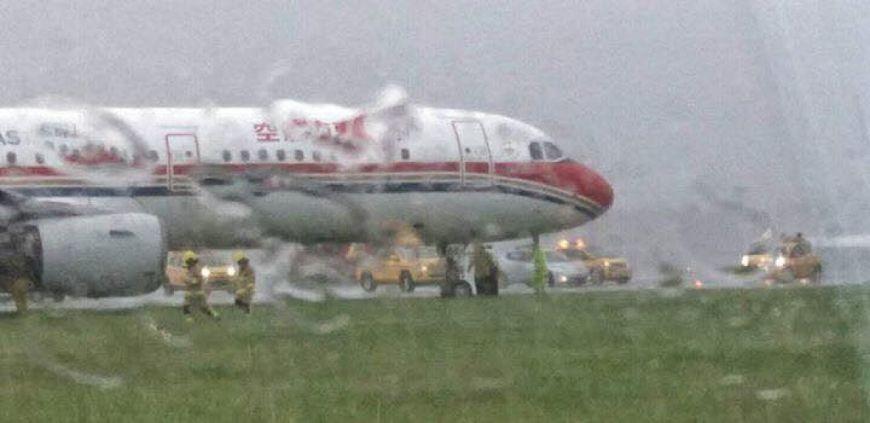 東方航空客機降香港機場 衝出跑道│TVBS新聞網