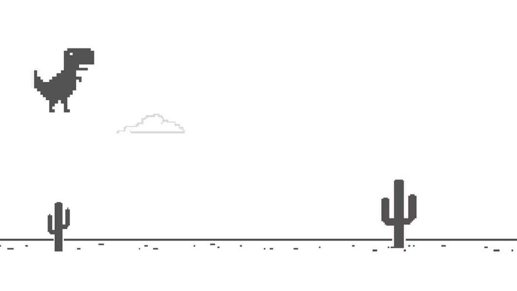 Chrome斷線小彩蛋遊戲 按「下」小恐龍還會這麼做│TVBS新聞網