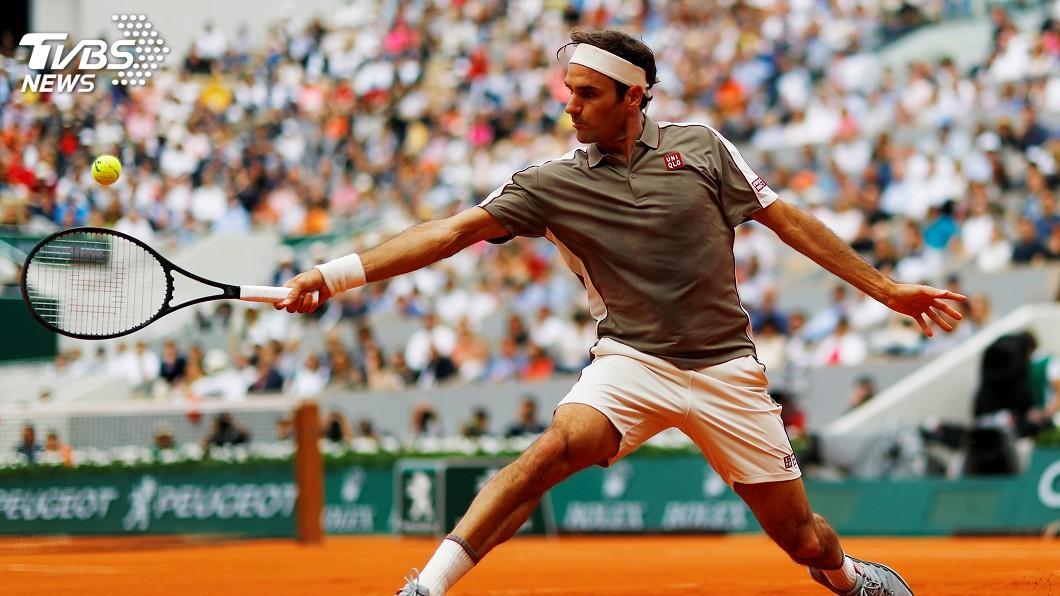 法國網球公開賽 費德瑞旗開得勝│TVBS新聞網