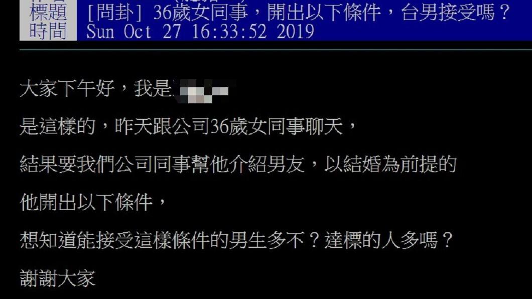 36歲女開「10大擇偶條件」 網:單身到63歲│TVBS新聞網