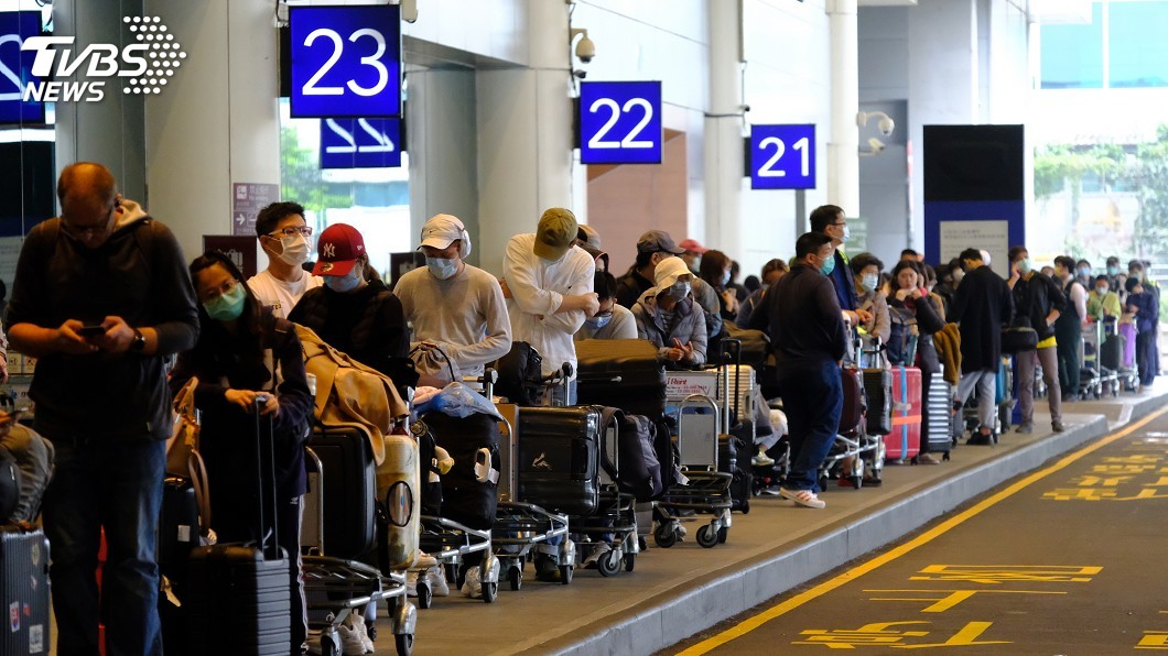 今起入境須居家檢疫新制 機場半日逾5千旅客返臺│TVBS新聞網