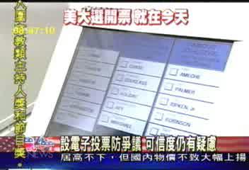防選舉爭議 各州引用電子投票│TVBS新聞網
