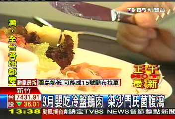 9月嬰吃冷盤鵝肉 染沙門氏菌腹瀉│TVBS新聞網
