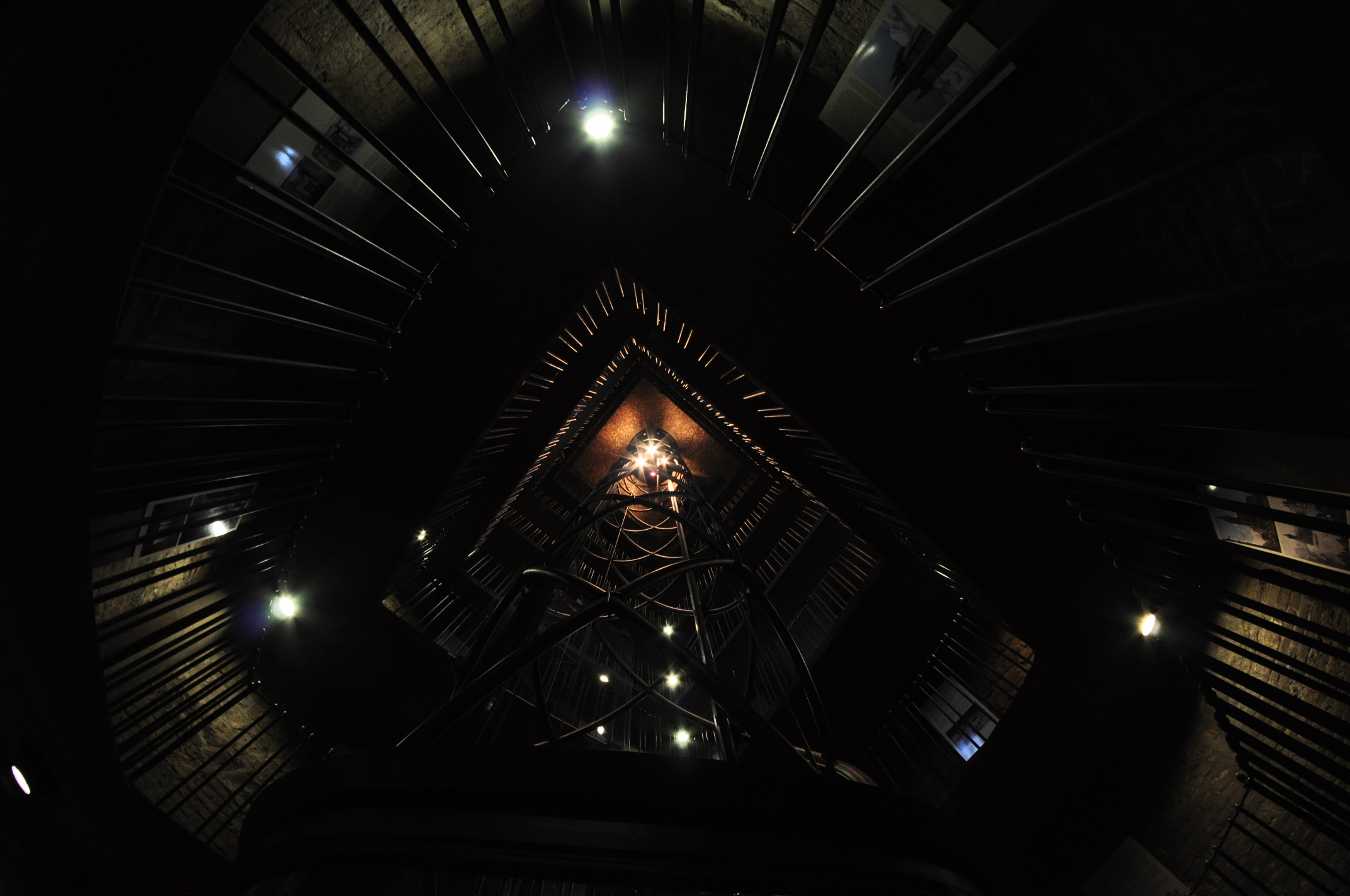 Spectacular elevator in Pragues old townhall  cc0photo