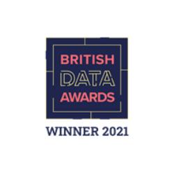 We're a British Data Awards 2021 Winner!