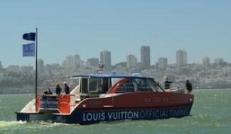 Louis Vuitton boat photo
