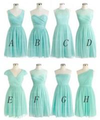 Tiffany Blue Bridesmaid Dress, Short Bridesmaid Dress ...