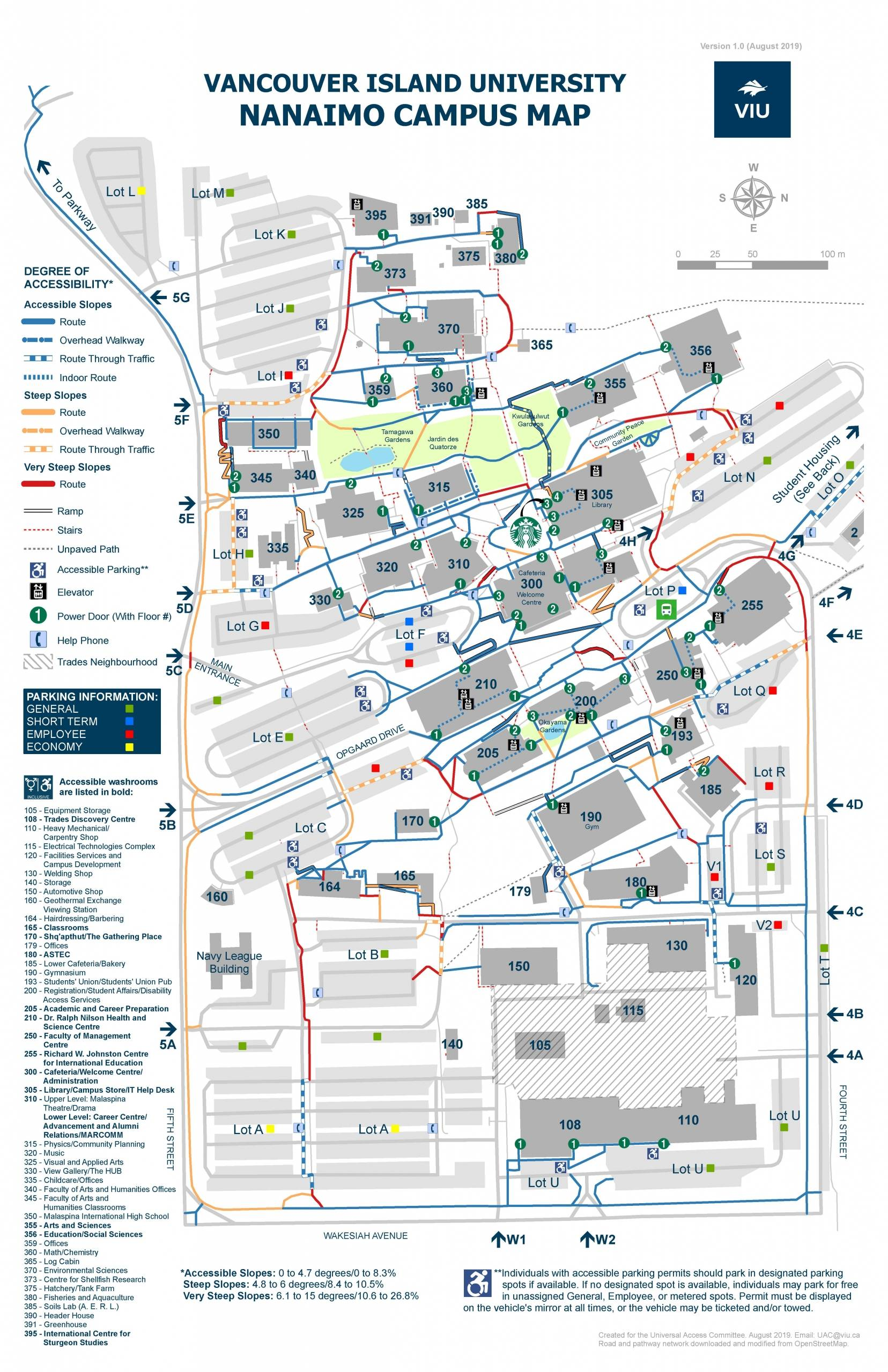 Acc Campus Map : campus, Mapping, Virtual, Event, Canadian, Cartographic, Association