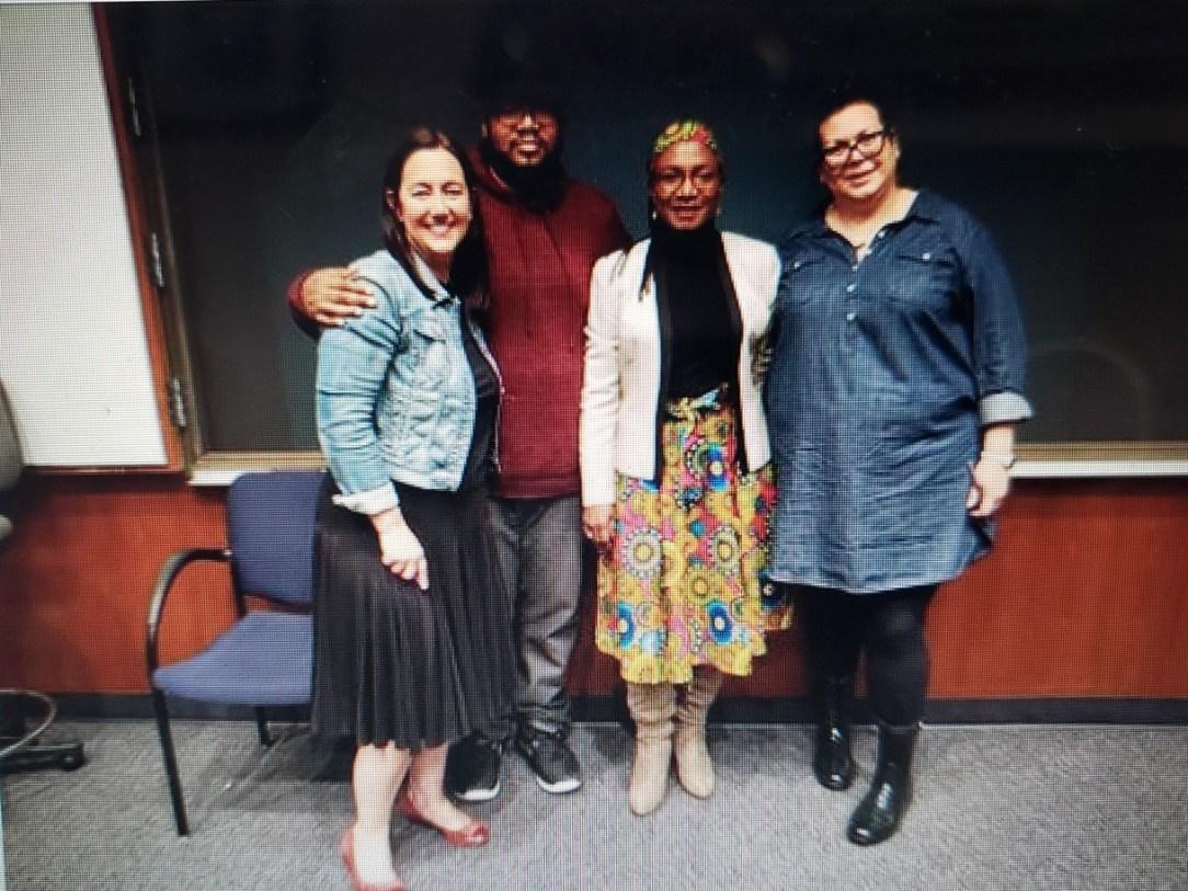 Freedom Writers with Fola