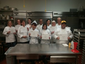 Pastry Students & Chef Boman