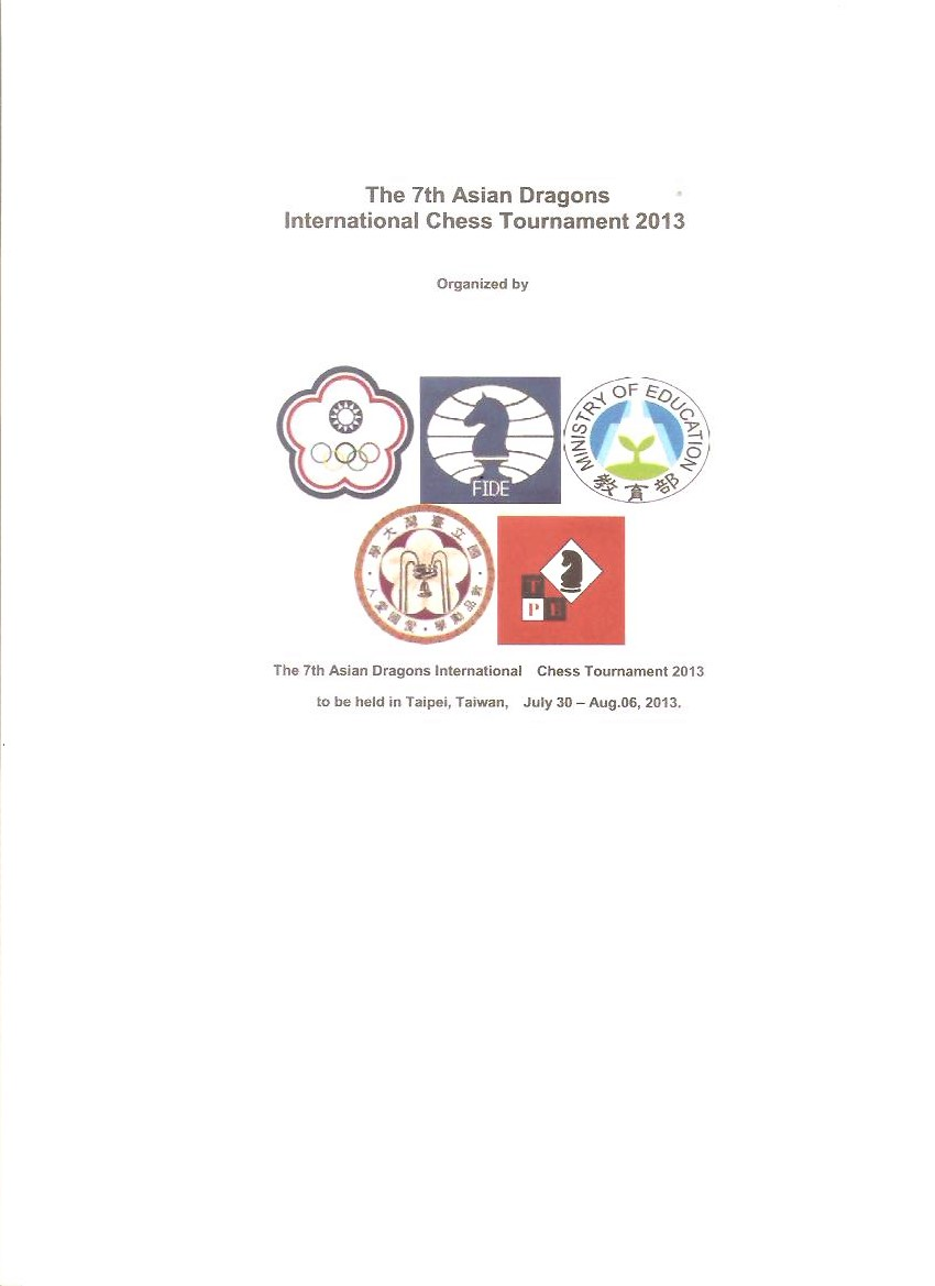 2013 , 7th Asian Dragons International Chess Tournament
