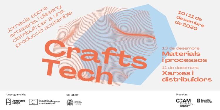 CRAFTS TECH 2020 jornada sobre artesania i disseny distribuit
