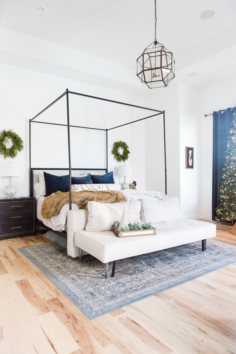 5 Easy Christmas Ideas for Bedrooms  CC and Mike
