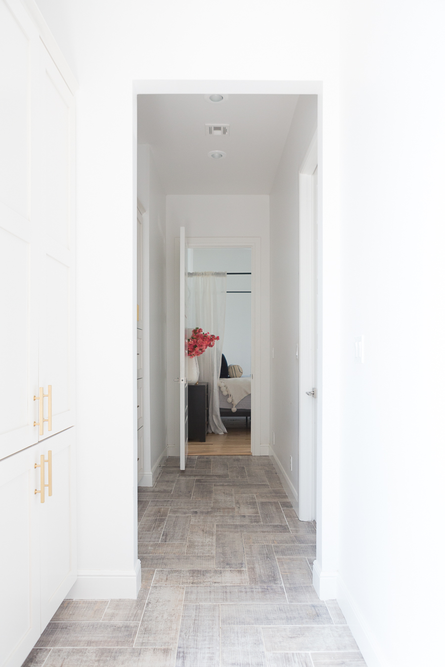 5 beautiful herringbone wood floor alternatives CC and Mike  Design Blog