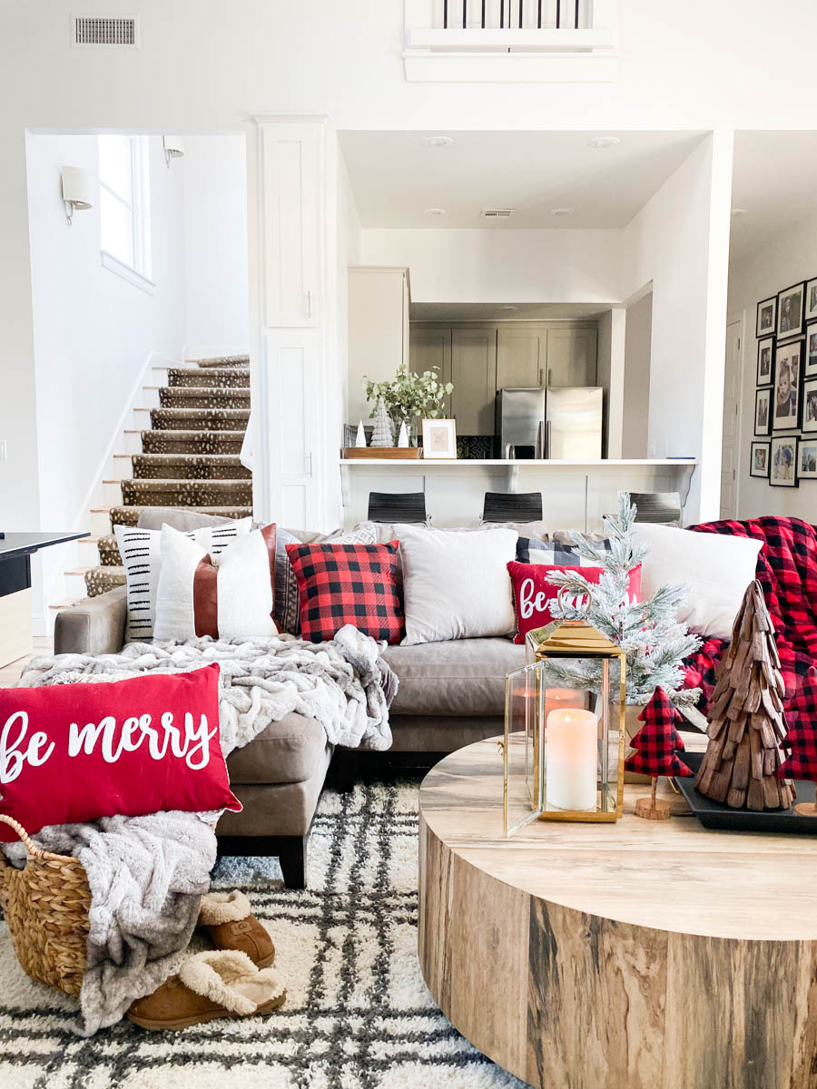 Home Goods Christmas Pillows : goods, christmas, pillows, Affordable, Buffalo, Plaid, Holiday, Pillows, Decor