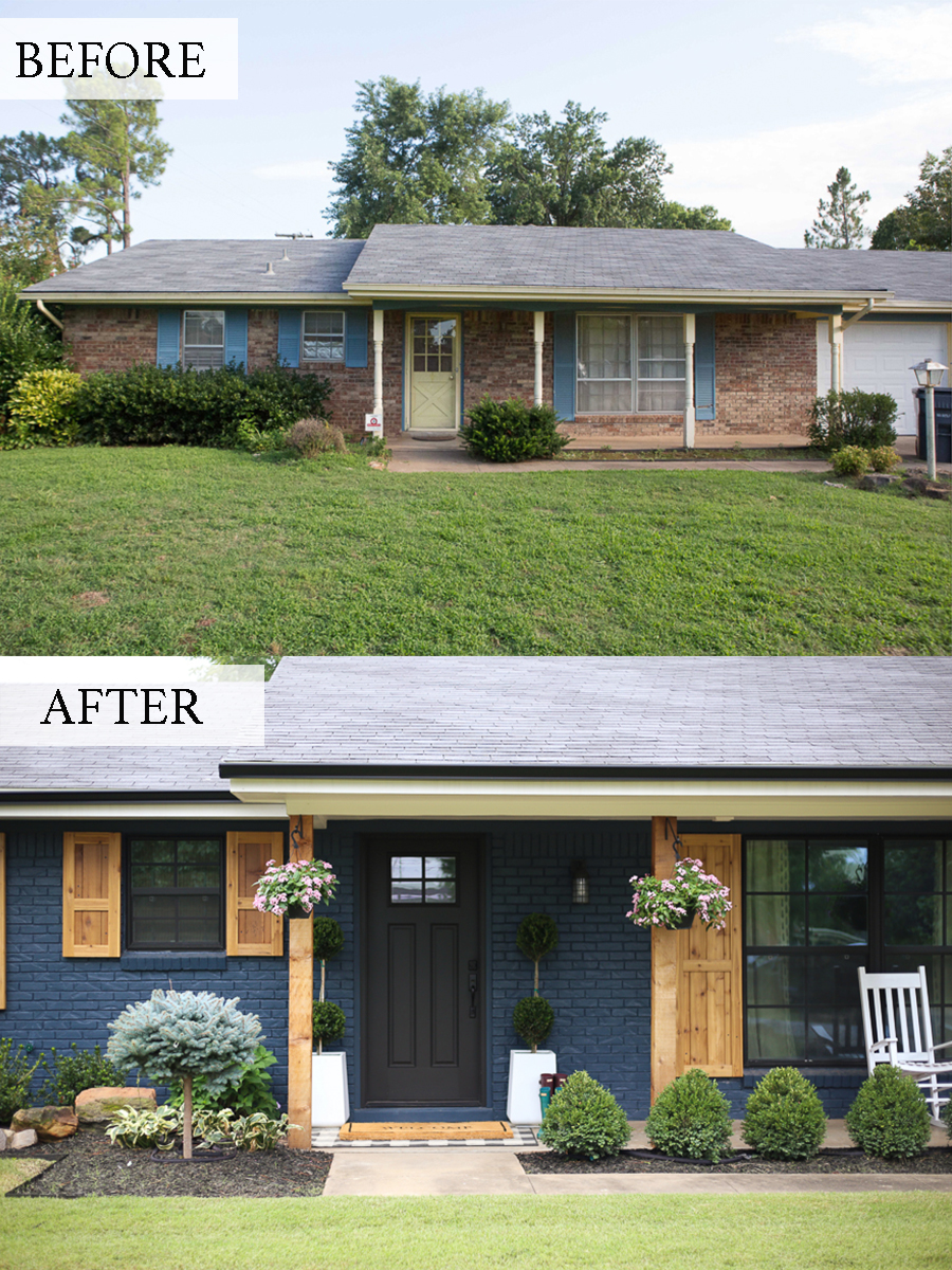 Ranch House Additions Before And After : ranch, house, additions, before, after, Modern, Cedar, Ranch, Style, Remodel