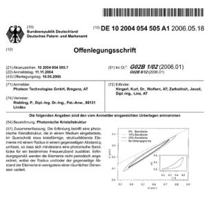 Zarbakhsh_Patents