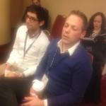 Two members of Temple Beth-El's young leadership at the Consultation