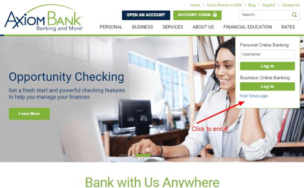 Axiom Bank enroll