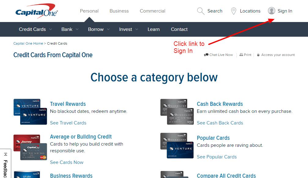 One Venture Rewards Credit Card