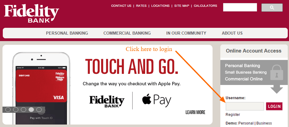 Fidelity Bank Nc Personal Online Banking