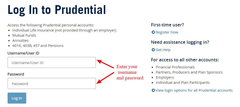 prudential insurance customer service