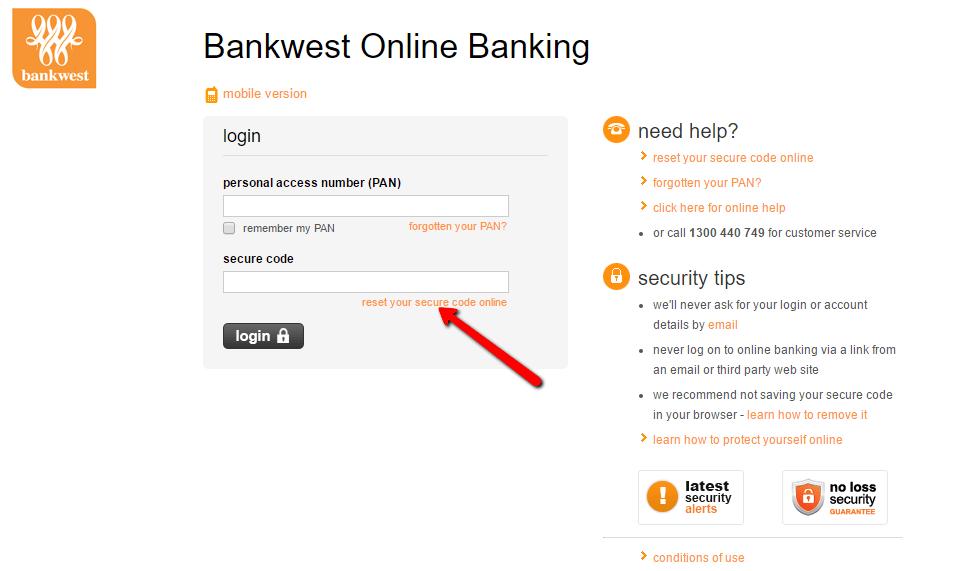 Bankwest Bank Online Banking Login  Cc Bank
