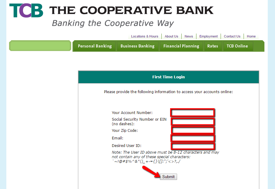 Cooperative Online Banking Personal