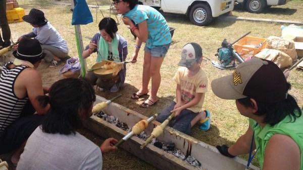【きらきら☆したら】設楽で遊ぼう「竹バームクーヘンづくり」