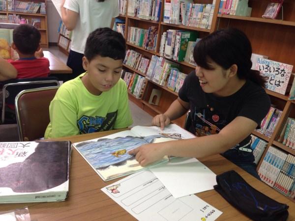 【アミーゴ】日本語指導が必要な子どもたちとの多読活動