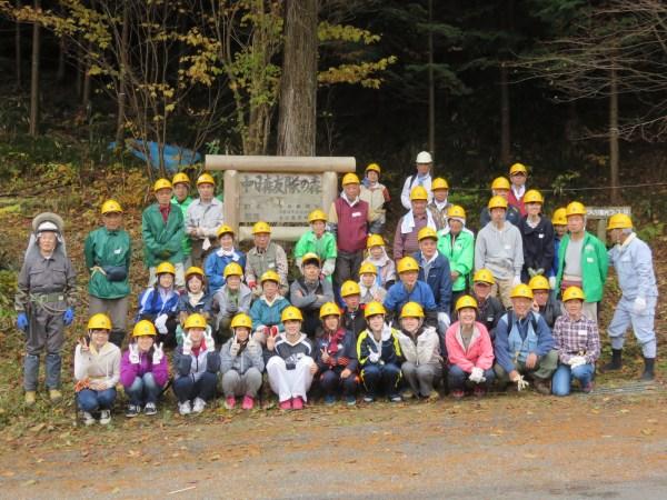 段戸国有林「中日森友隊の森」の森林整備