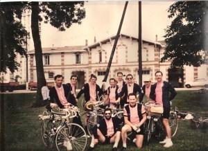 Départ de Bordeaux Paris 1984