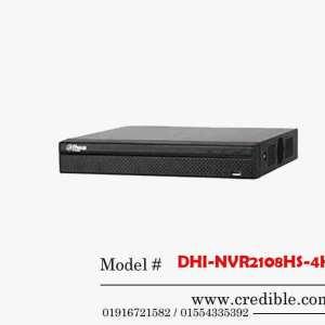 Dahua NVR DHI-NVR2108HS-4KS2