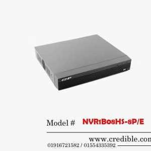 Dahua NVR NVR1B08HS-8P/E