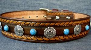 CCC Western Leather Dog Collars - Dakota Dawg