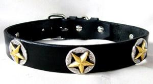 CCC Western Leather Dog Collars - Deputy Dawg